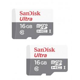 Memoria Micro Sd Sandisk C10 C/adaptador