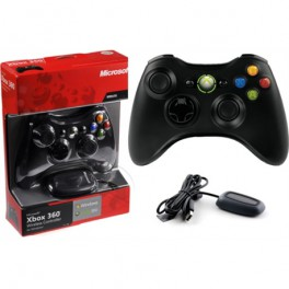 Joystick Inalámbrico Microsoft Original Xbox 360 y PC