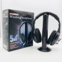 Auriculares Inalambricos Wireless Headphone 5 En 1- Mh2001