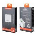 Cargador De Pared Somostel + Cable Lightning 3.0