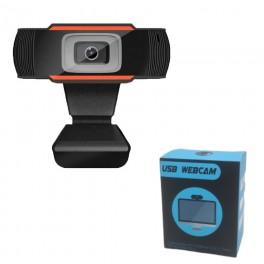 Cámara Web 720p HD Con Micrófono y Zoom