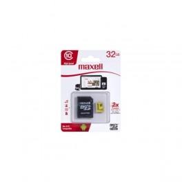 Memoria Maxell  32GB C10 C/adaptador