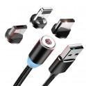 Cable magnético 3 en 1 - 1m